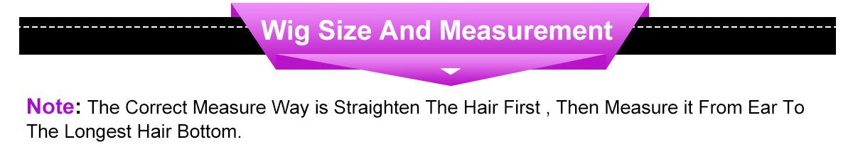 celie wigs size and measurement