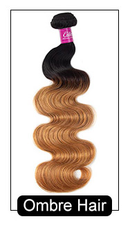 ombre hair body wave