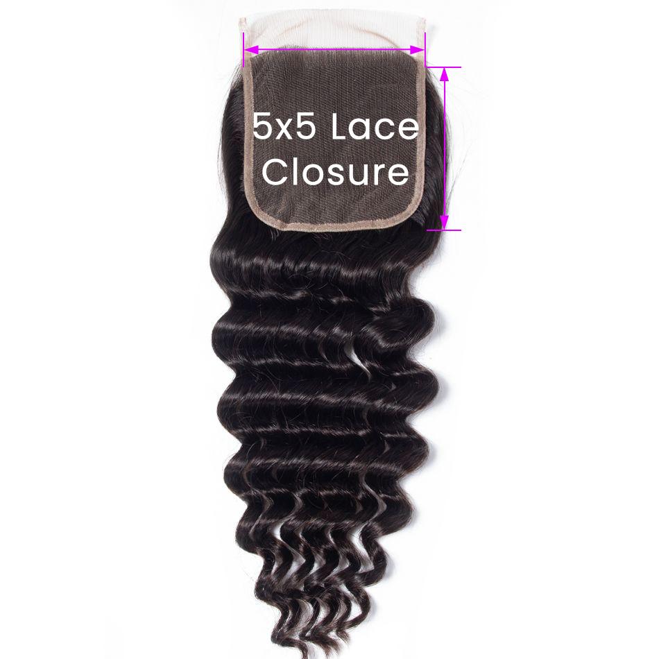Loose Deep 5x5 Lace Closure