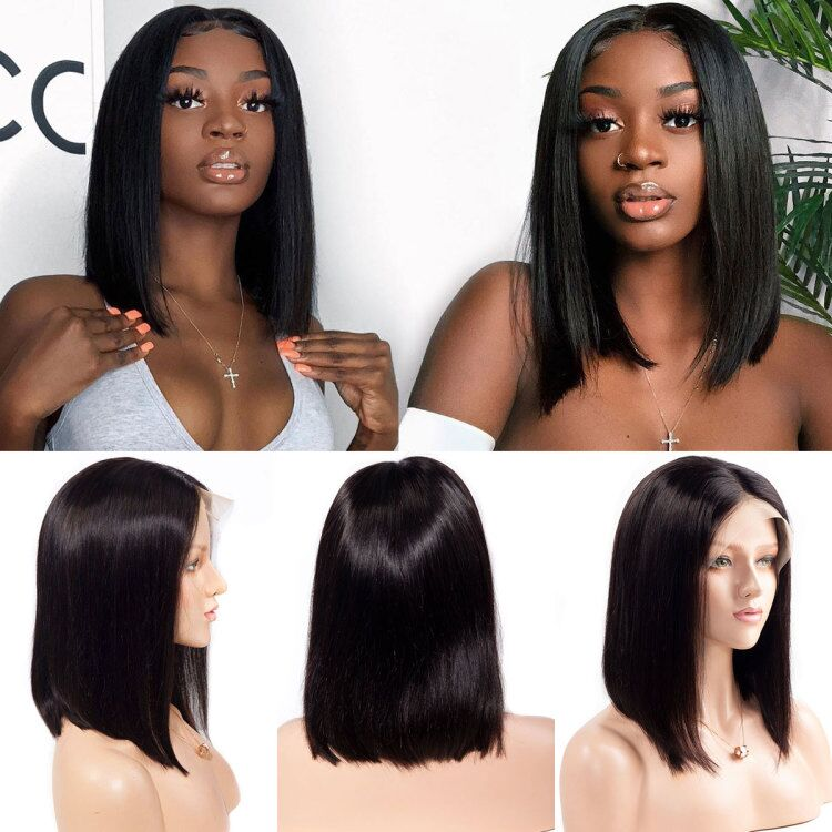 13x4 Straight Bob HD Lace Front Wig