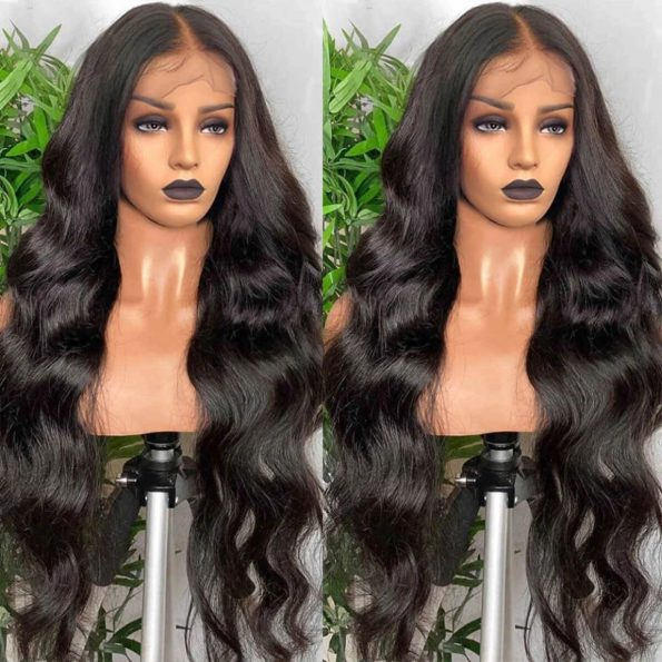 13×6 body wave lace front wig