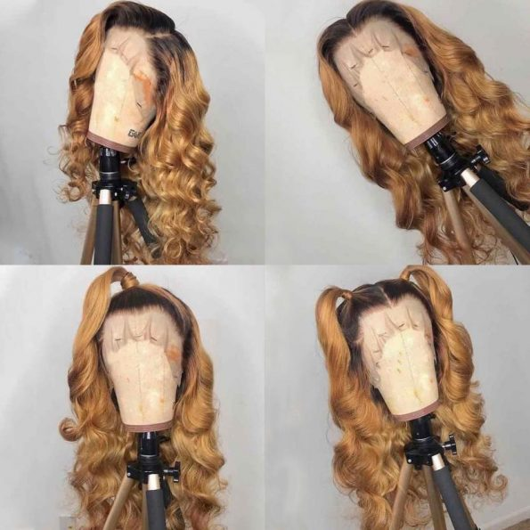 1b/27 lace front wig
