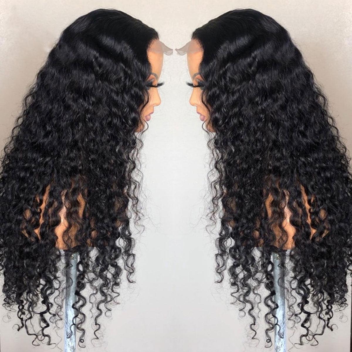 Deep Wave 5x5 Lace Wigs
