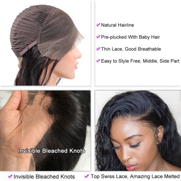 Deep Wave 13×4 Lace Front Wig