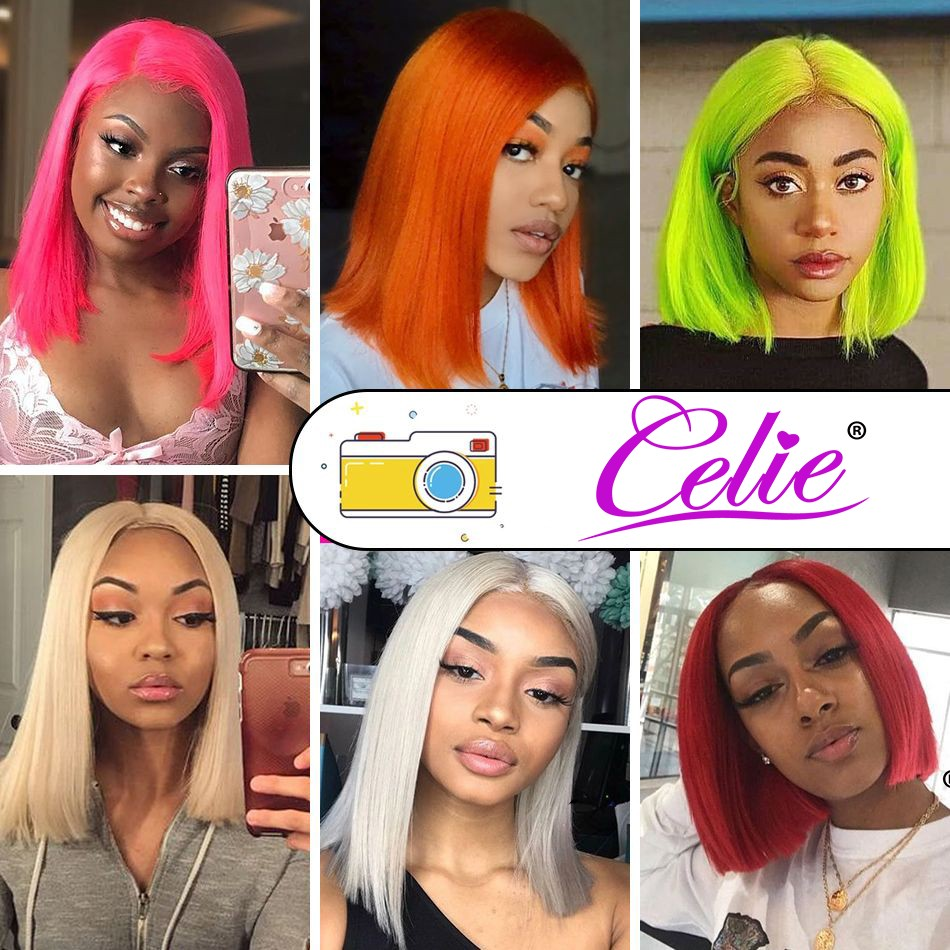 613 Straight Bob 13x6 Lace Front Wig