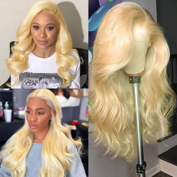 613 blonde lace wig
