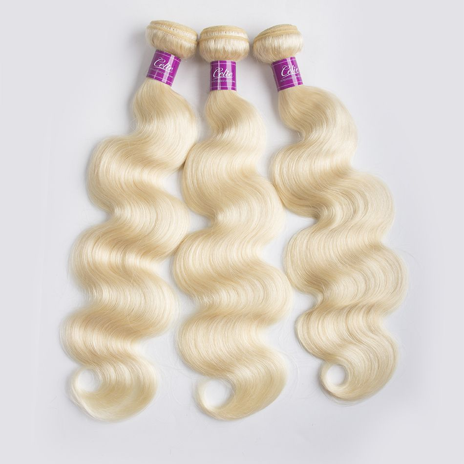 613 Body Wave 3 Bundles With Closure