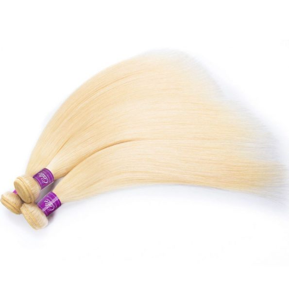 Brazilian 613 Straight Hair 4 Bundles 5