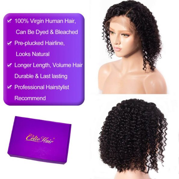 Curly Bob Lace Front Wig (6)