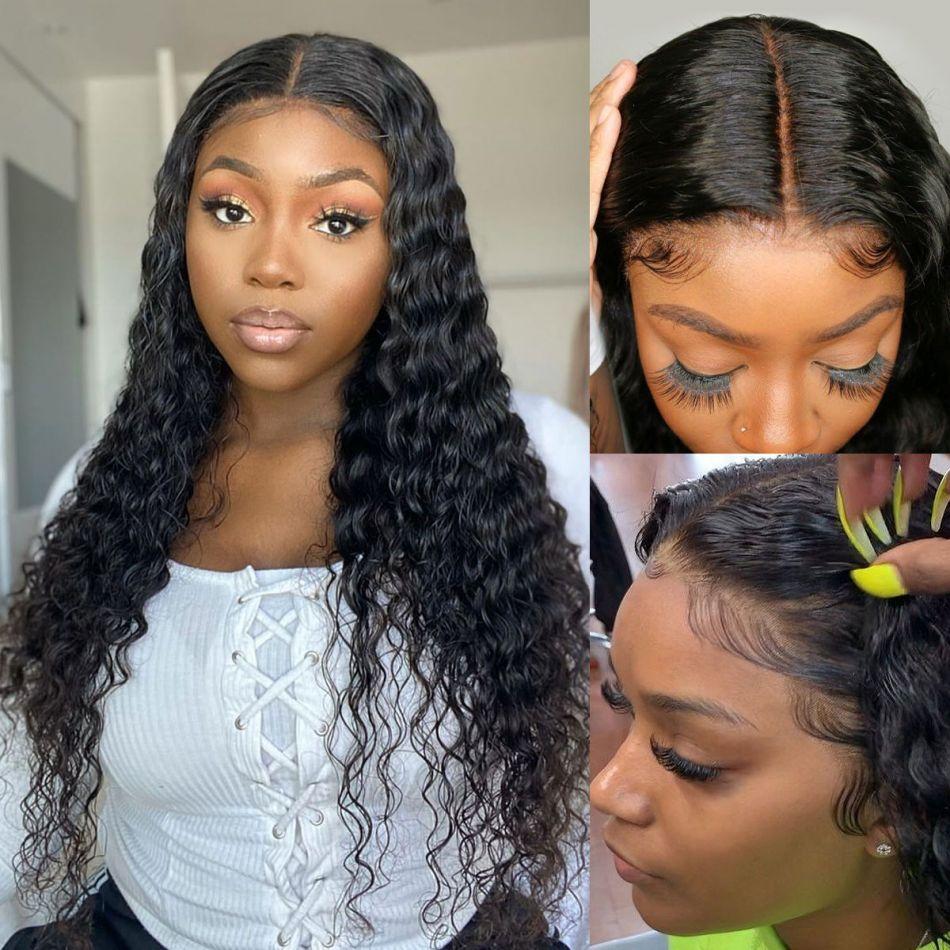 Deep Wave 13x6 Lace Front Wigs