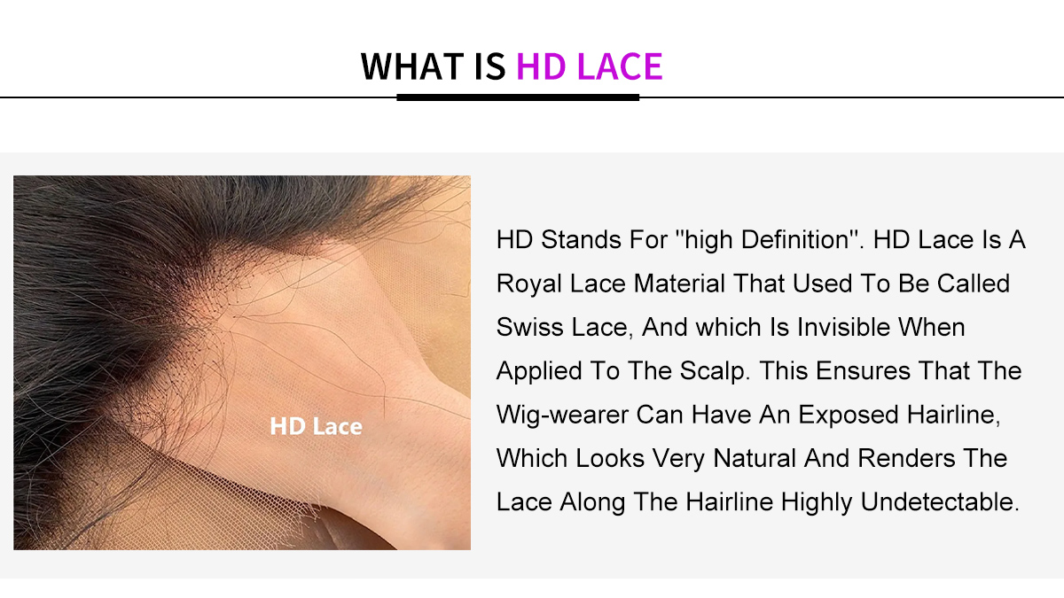 HD Lace wig detail