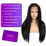 13×6 straight lace front wig 2