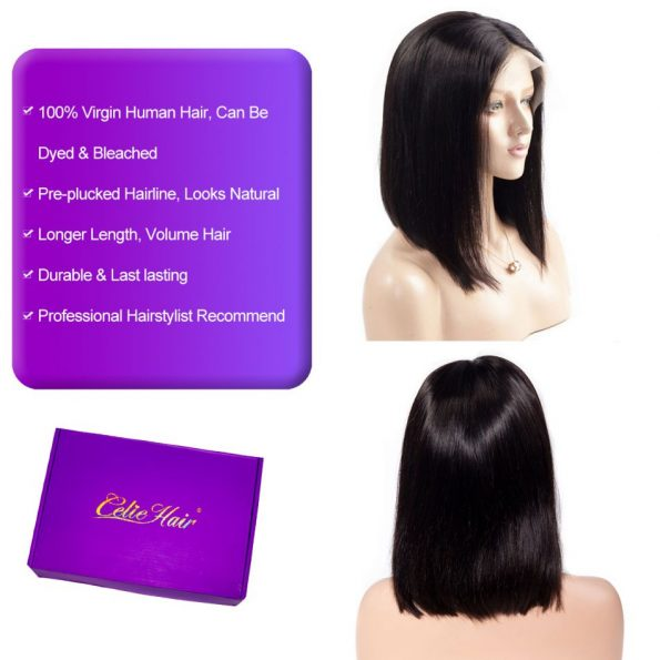 Straight Bob Lace Front Wig (3)