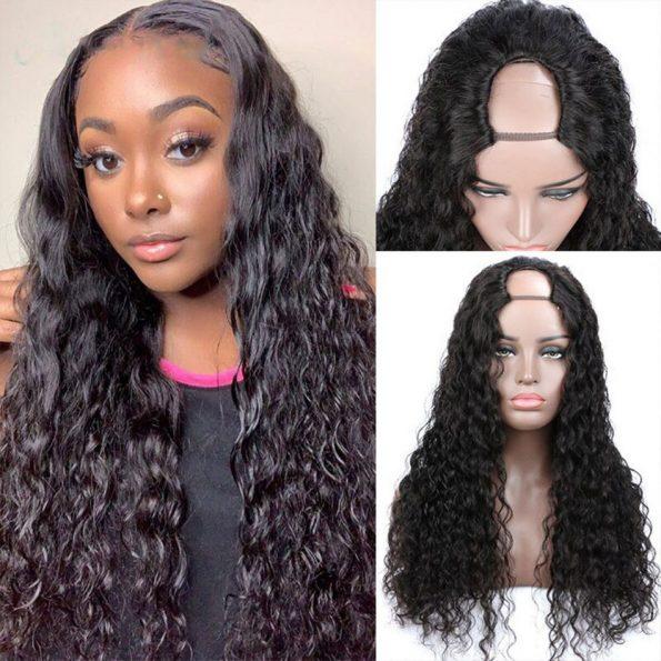 Water Wave U Part Wig (3)
