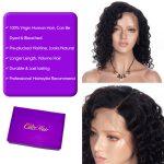Water wave short cut wig