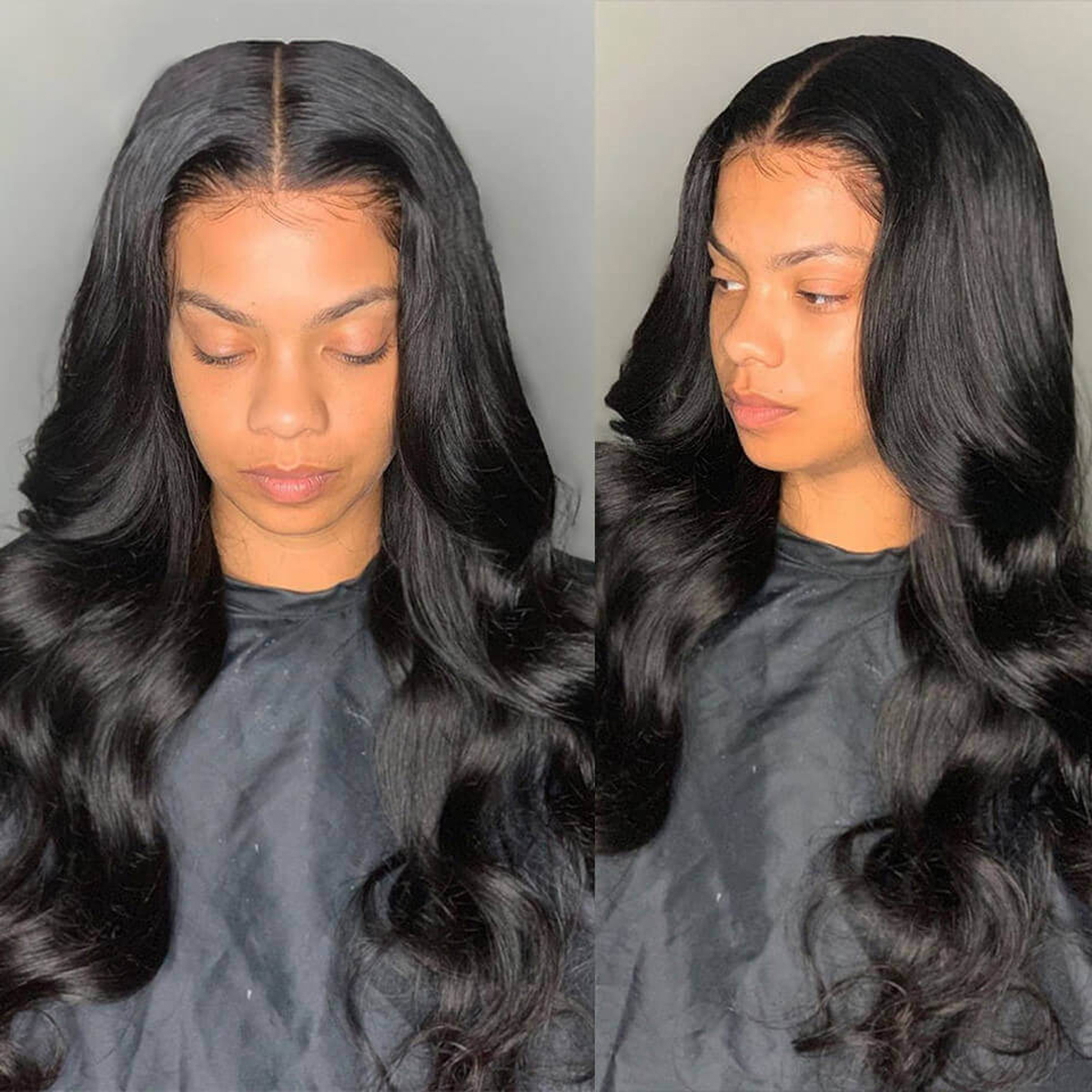 body wave hair 6x6 lace closure wigs