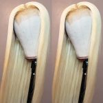 celie blonde straight hair lace wig
