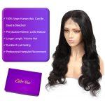6×6 body wave closure wig