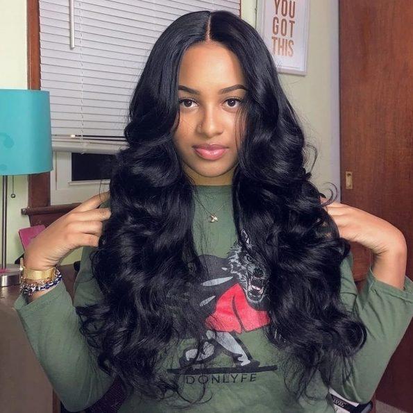 celie body wave hair 6×6 lace closure wigs
