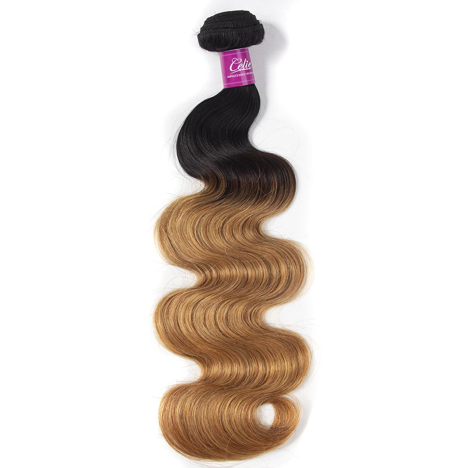 celie hair ombre body wave 1b 27