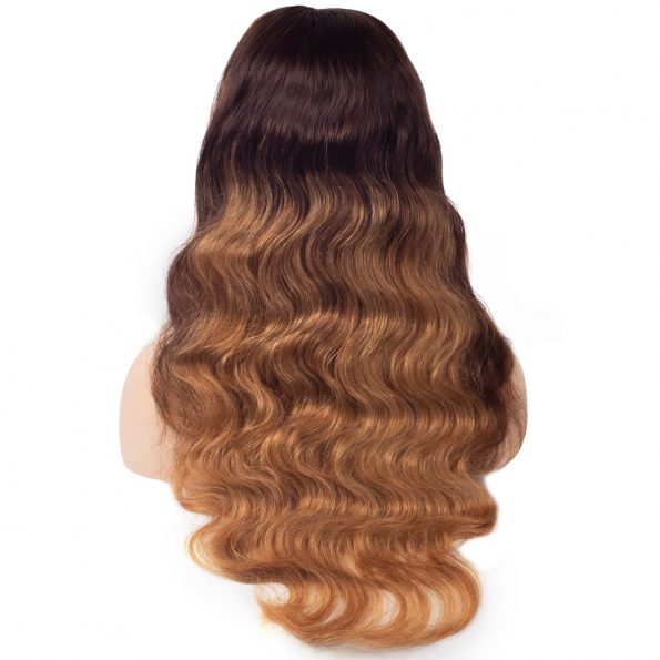 ccolored body wave wig