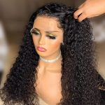 13×4 curly lace front wig