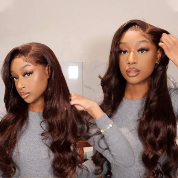 dark brown body wave wig (1)