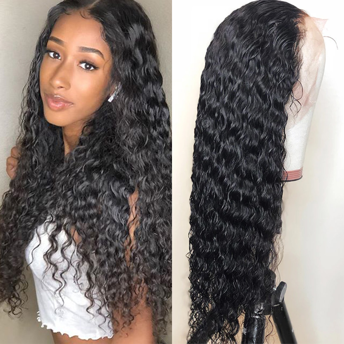 deep wave 6x6 lace wigs