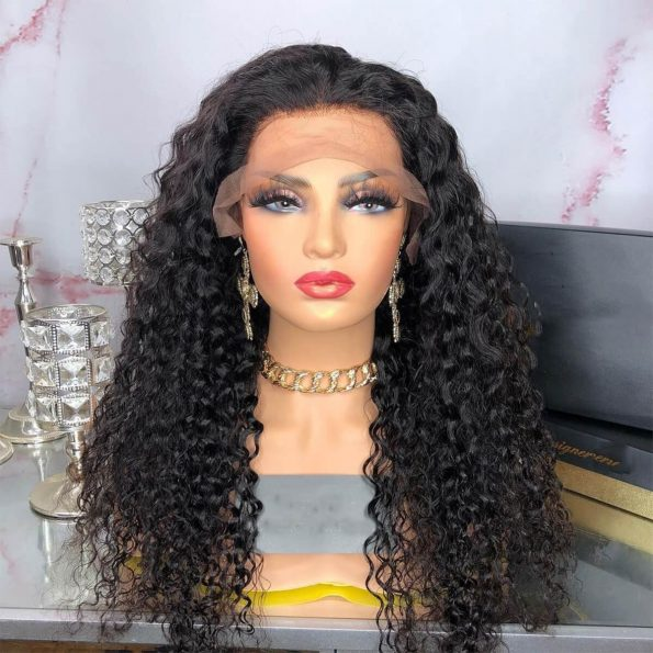 deep wave lace front wig730