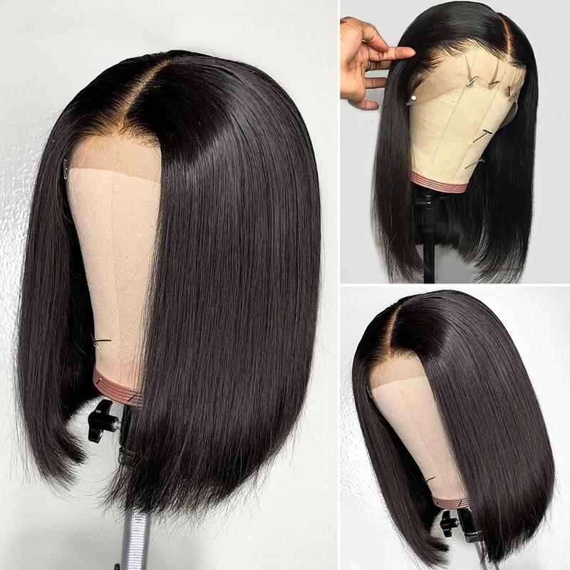full lace straight bob wig
