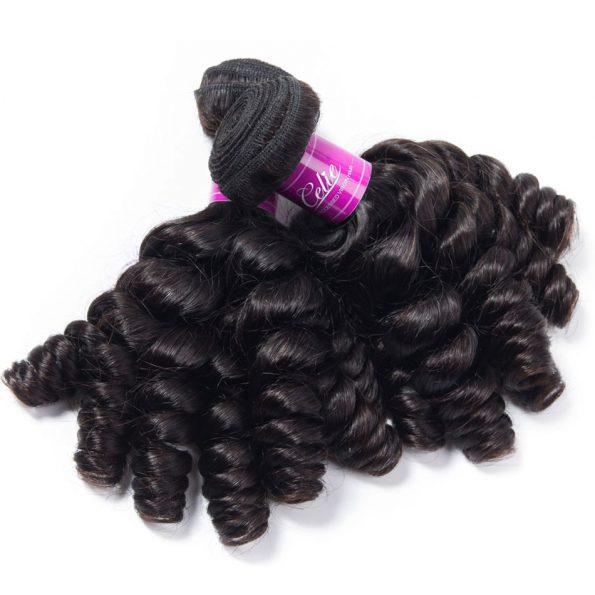 Brazilian Funmi Hair 3 Bundles With Closure