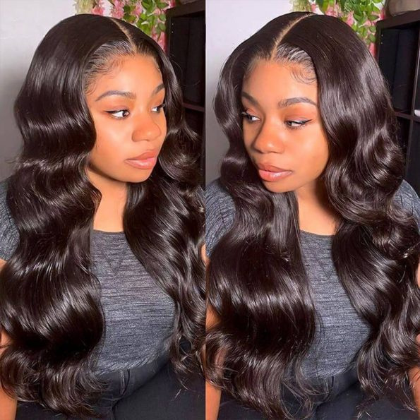 hd body wave lace front wig