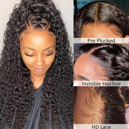 Deep Wave HD 13x4 Lace Front Wig