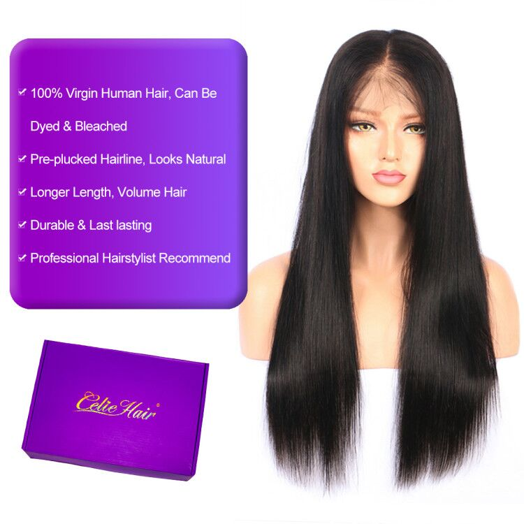 Straight HD Lace Wigs