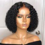 kinky curl bob wig