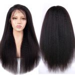Kinky Straight 13×4 Lace Front Wig