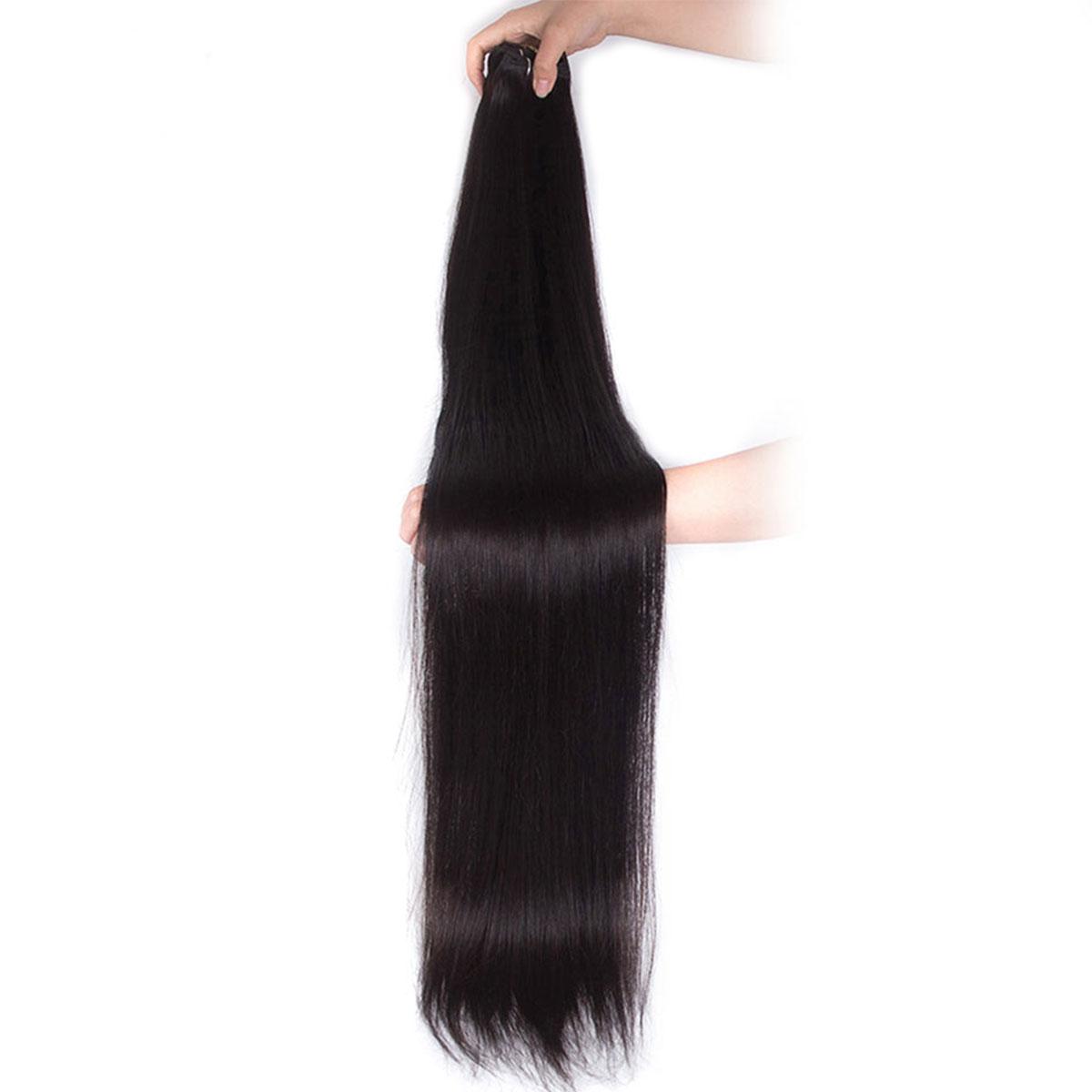 long straight hair bundles