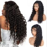 loose deep wave lace front wig
