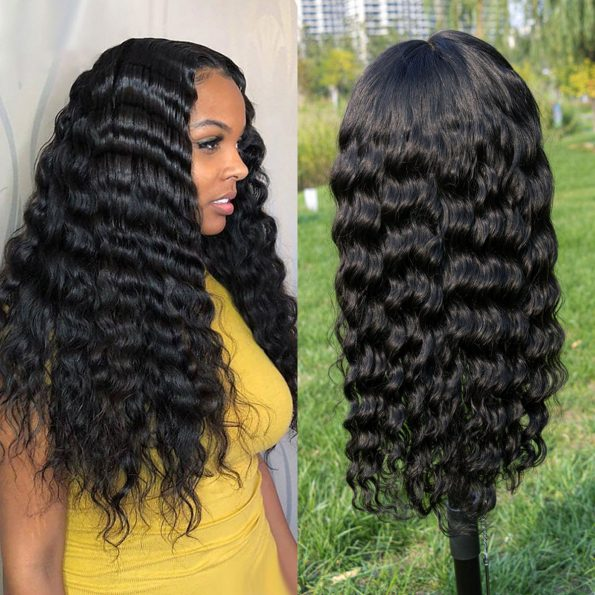Loose Deep Wave HD Lace Front Wigs