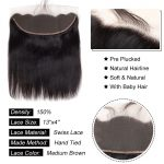Straight Hair 13×4 Lace Frontal
