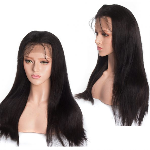 sstraight lace frontal wig