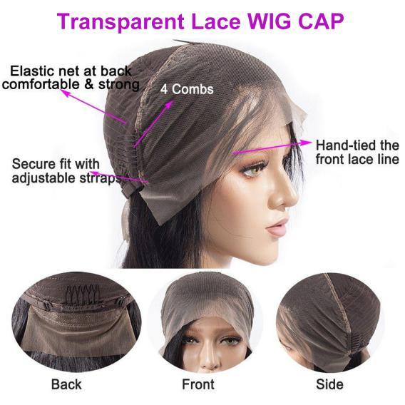 transparent lace wig cap