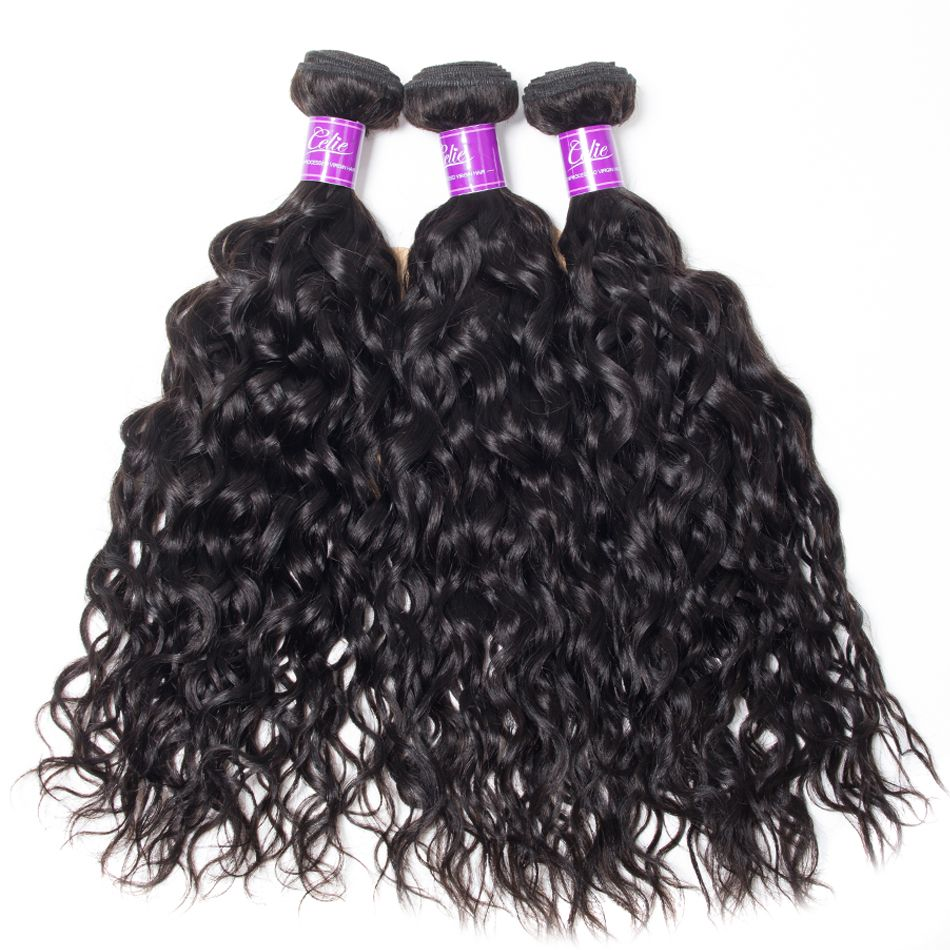 Water Wave 3 Bundles With Frontal