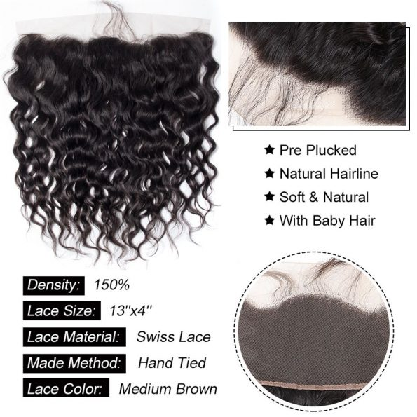 Water Wave 13×4 Lace Frontal