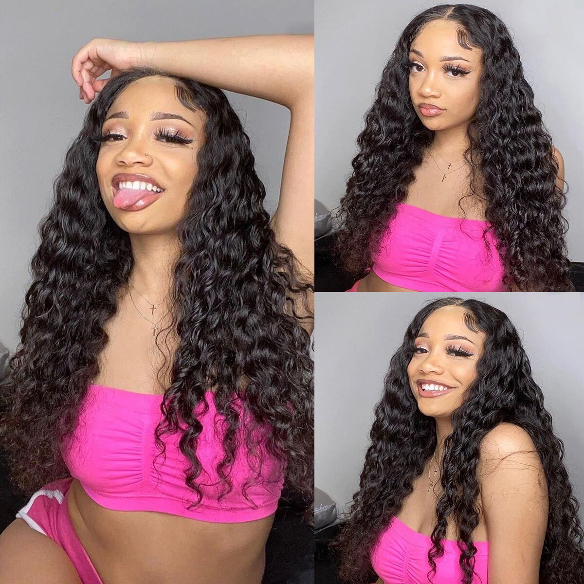 Water Wave HD Lace Closure Wigs