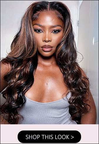 highlight body wave 13x4 lace front wigs