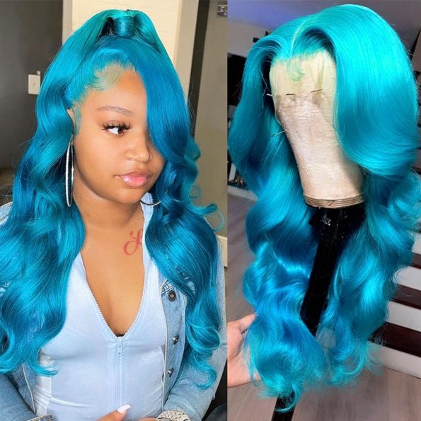 blue body wave lace front wig (2)